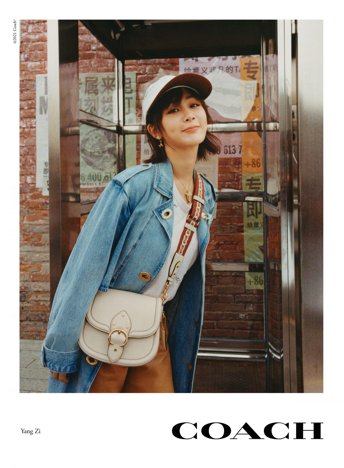 Yang Zi_ coach bag bags handbag