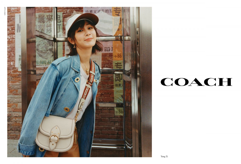 Yang Zi_ coach bag bags handbag campaign