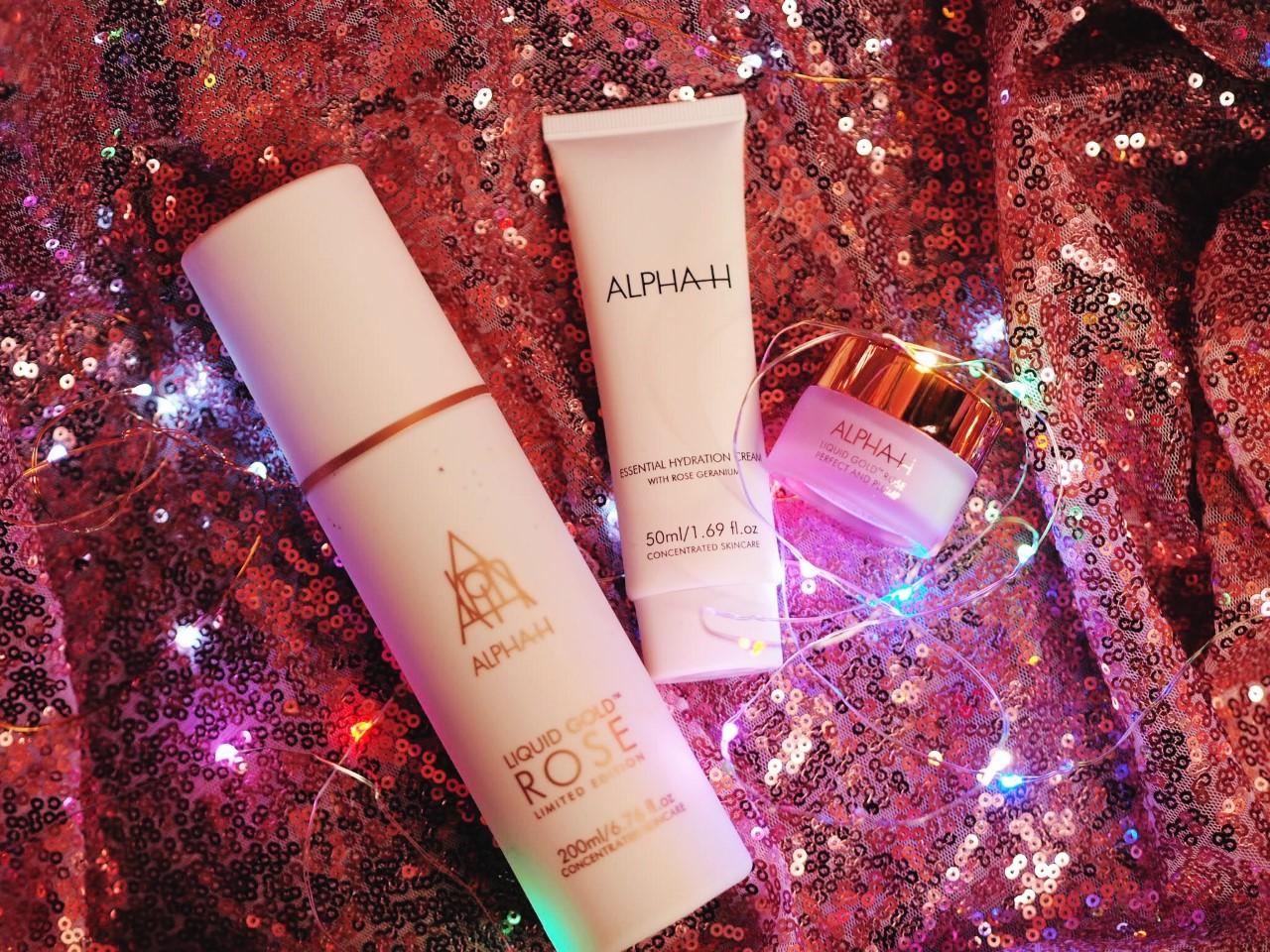 alpha h liquid gold rose gold skin care qvc