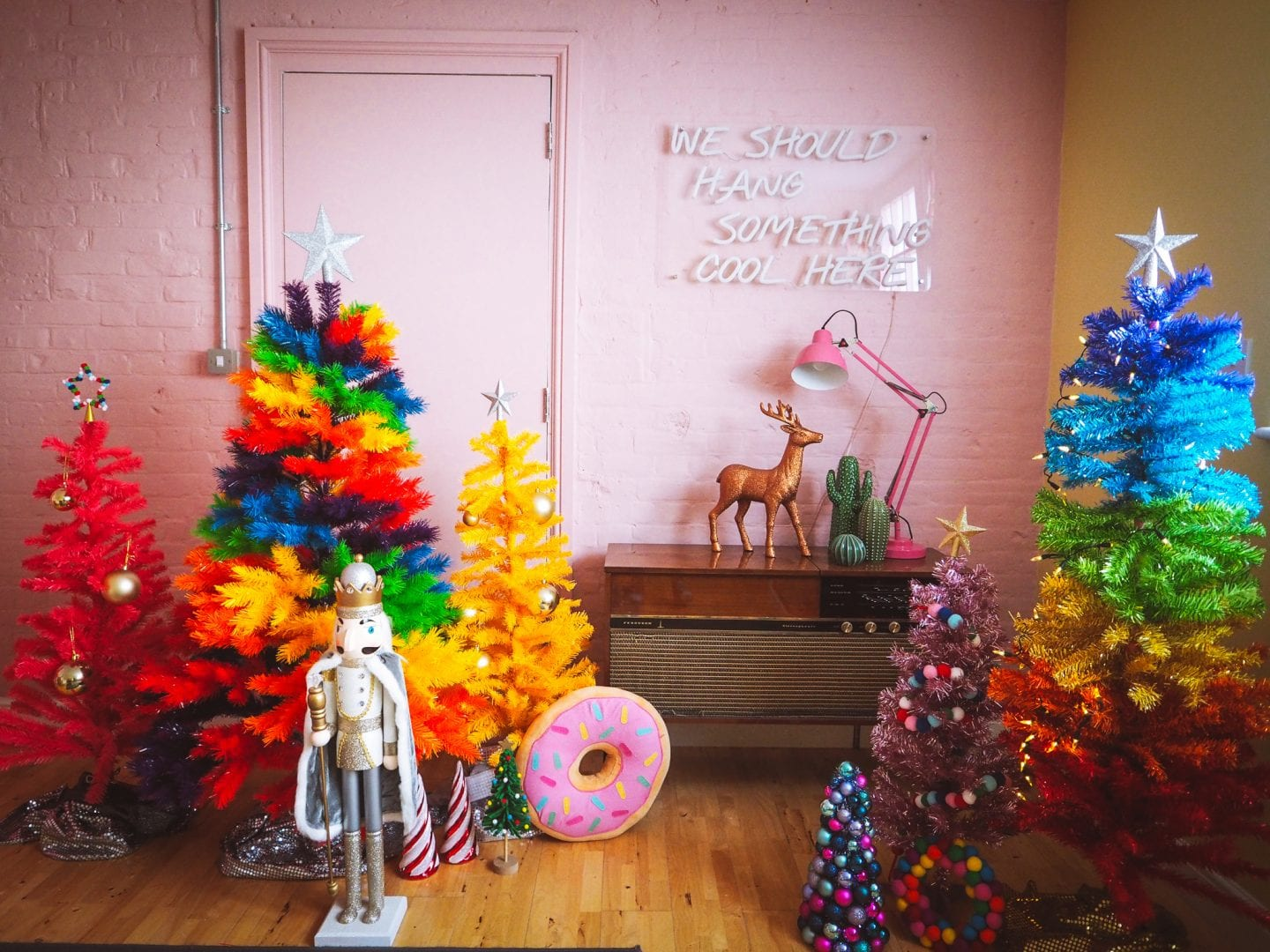 Where To Buy A Rainbow Christmas Tree!