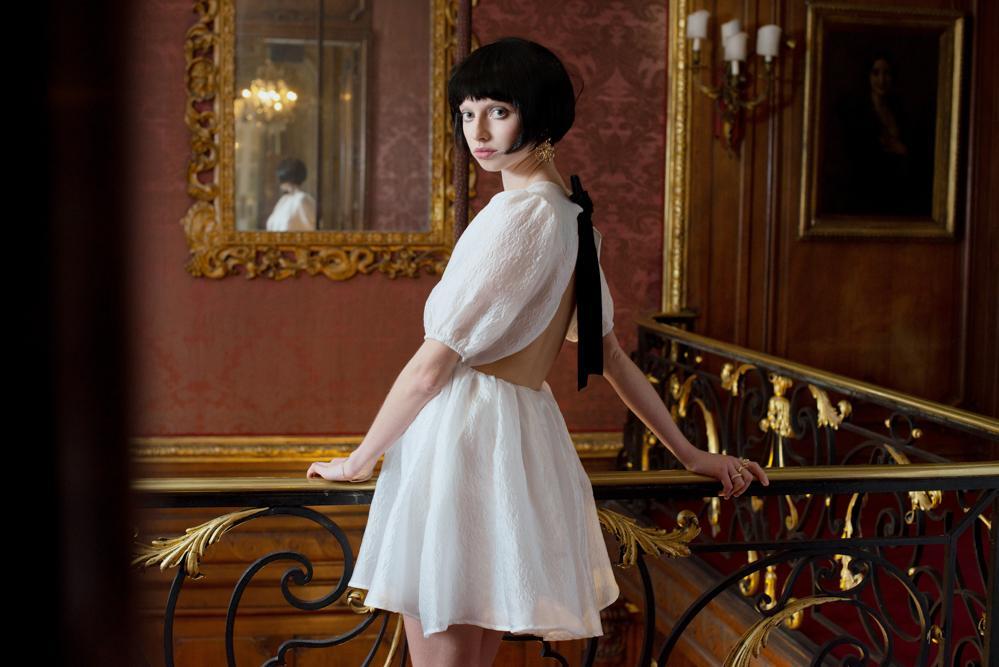 dream sister jane dress white dress