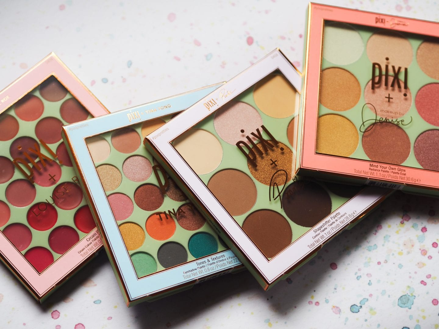 pixi beauty #pixipretties make up by Denise Louise roe make up palette Tina long promise make up artist