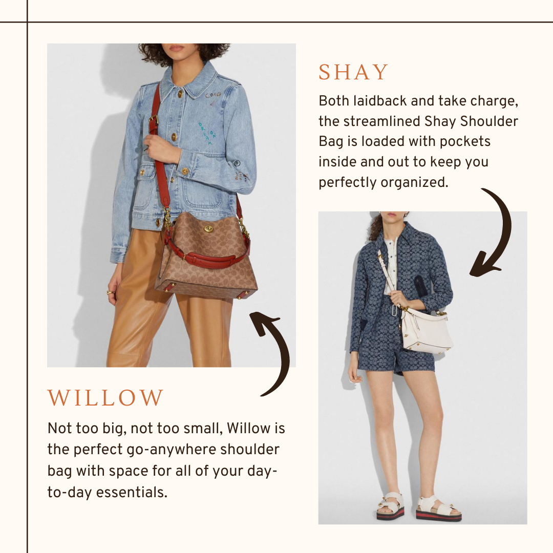 What's The Difference Between The Coach Willow & Shay Bag?