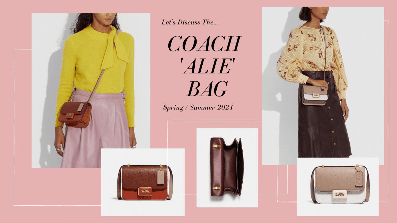 Ohh Let's Talk About The Coach Alie Shoulder Bag (Review)