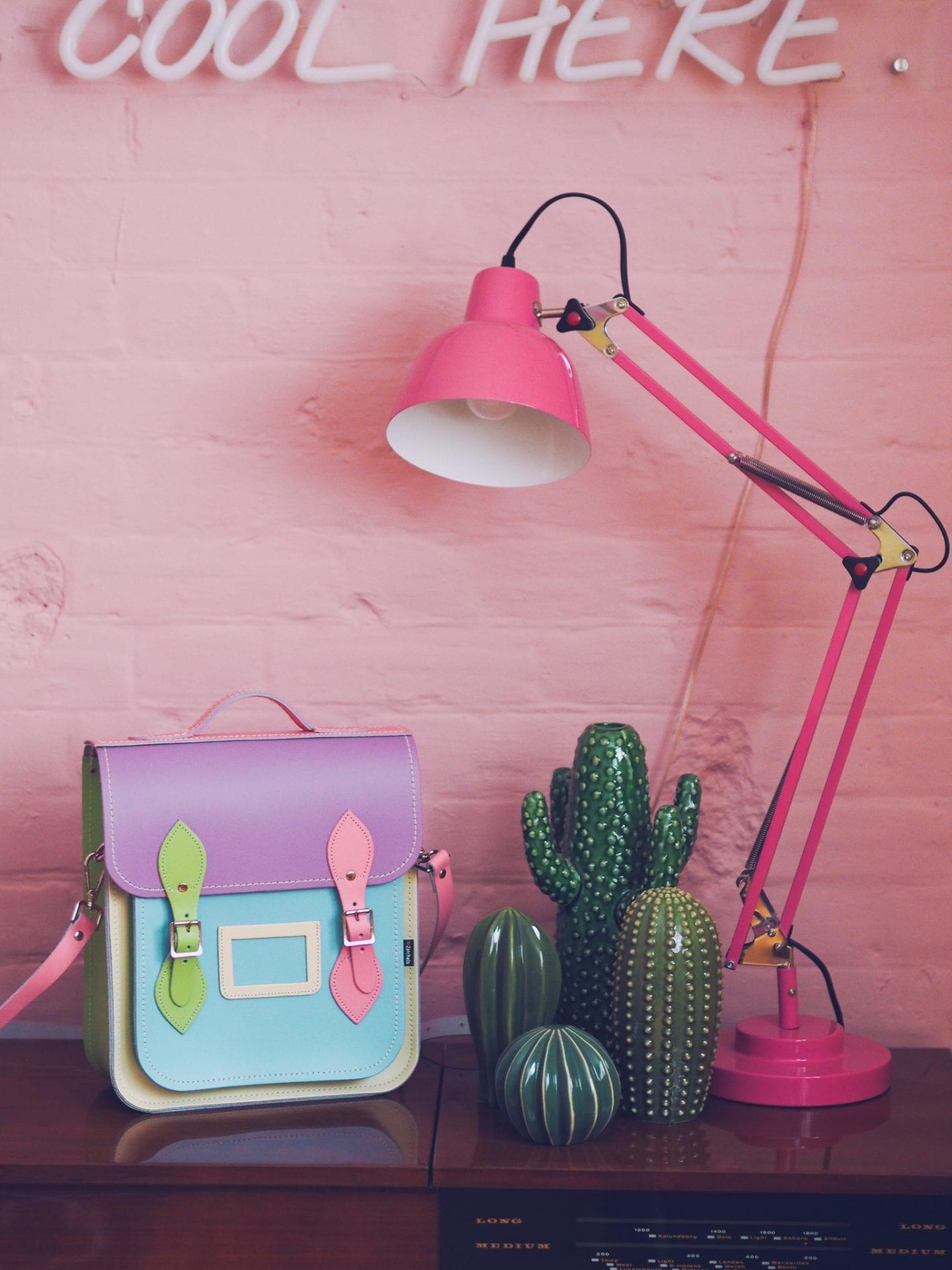 zatchels multicoloured backpack satchel bag handbag review rainbow