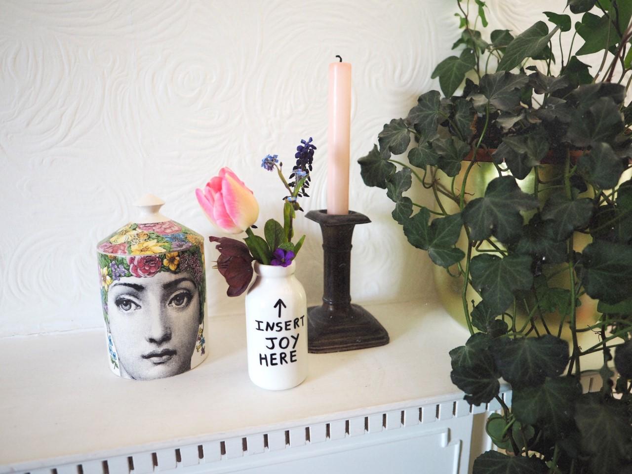 Insert Joy Here Vase