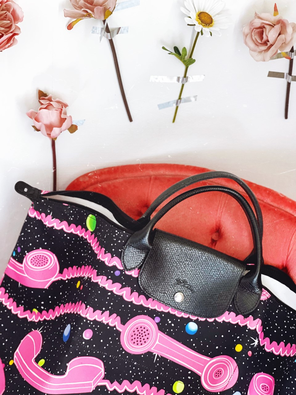 Jeremy Scott X Longchamp Bag