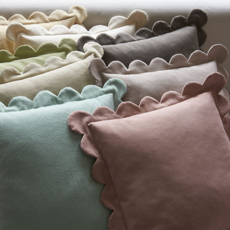 Linwood scallop cushions