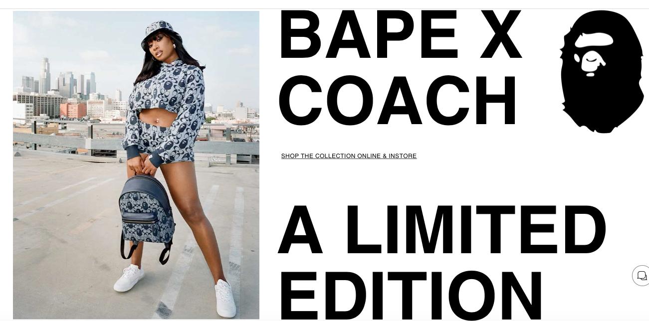 Coach X Bape