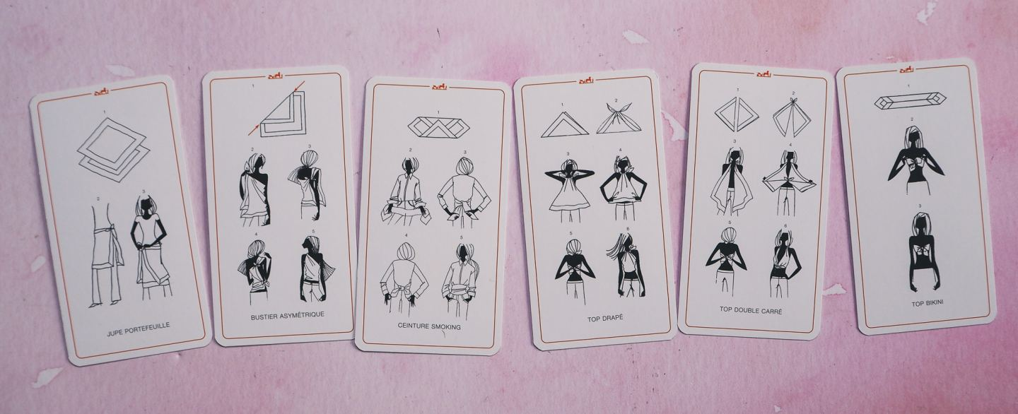 Let Me Show You The Hermes Scarf Knotting Cards!