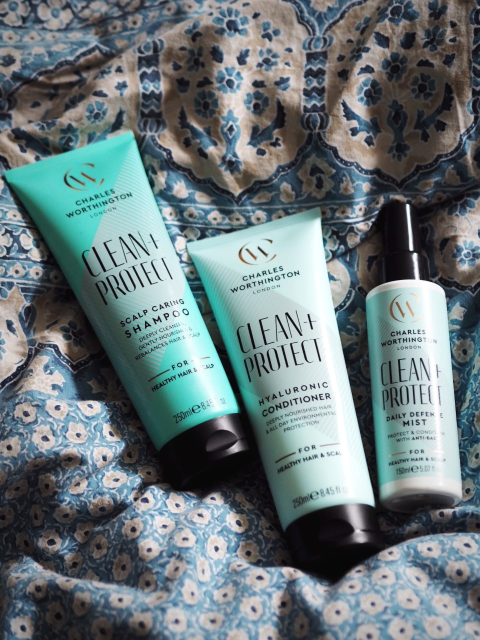 Charles Worthington Clean + Protect review hair care