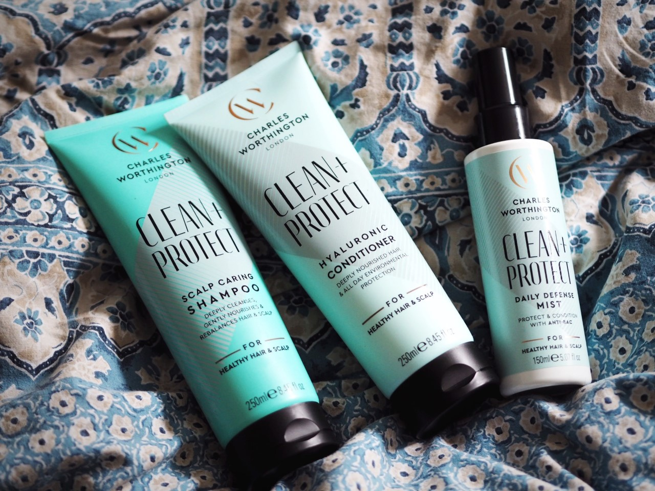 Charles Worthington Clean + Protect review