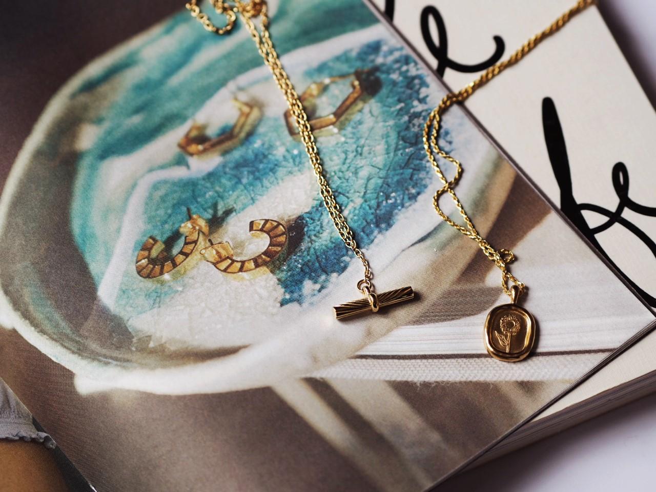 Daisy London Jewellery flower necklace pendant