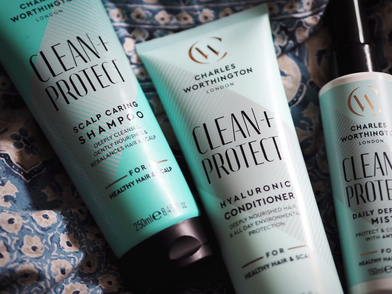 Five Things You Need To Know About Charles Worthington's Clean + Protect Range