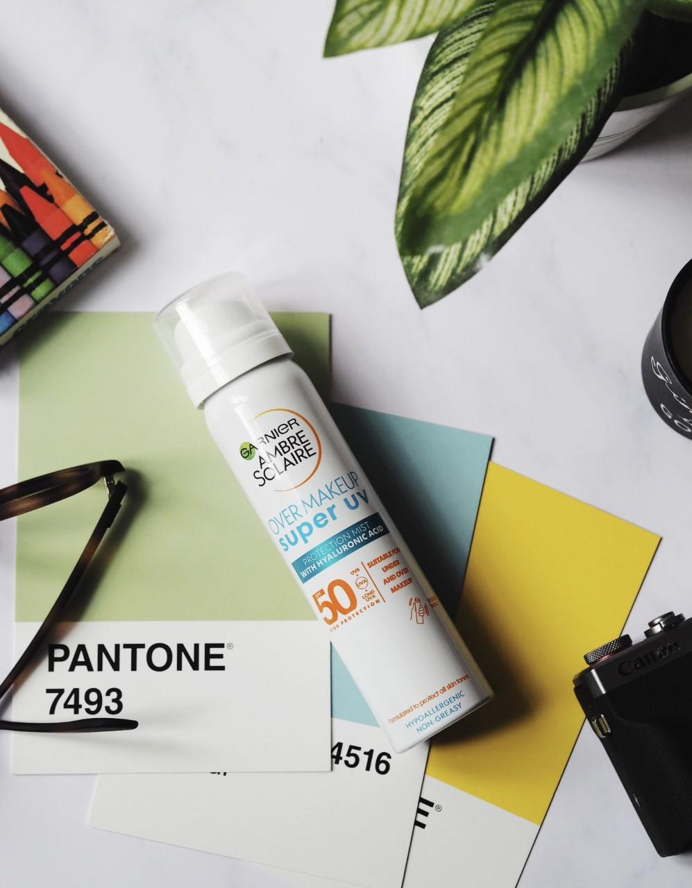 Garnier Ambre Solaire Over Makeup Super UV Protection Mist Review