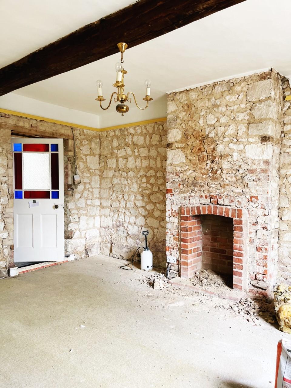 House Renovation Update norfolk cottage
