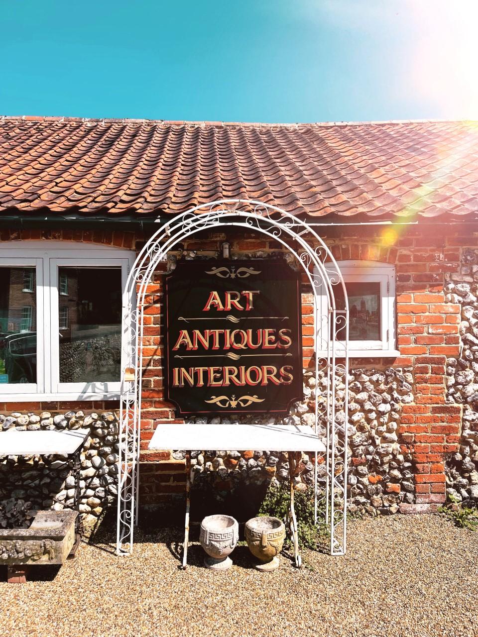 walsingham norfolk antiques shop farm shop
