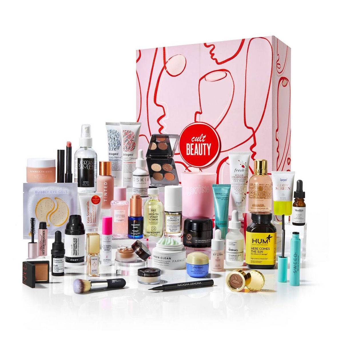 What's Inside The Cult Beauty Advent Calendar 2021?
