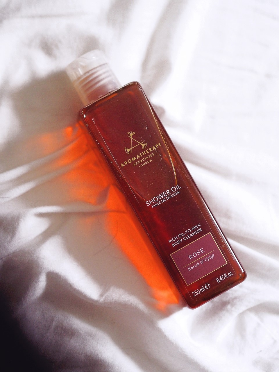 Aromatherapy Associates Shower Oil how to use