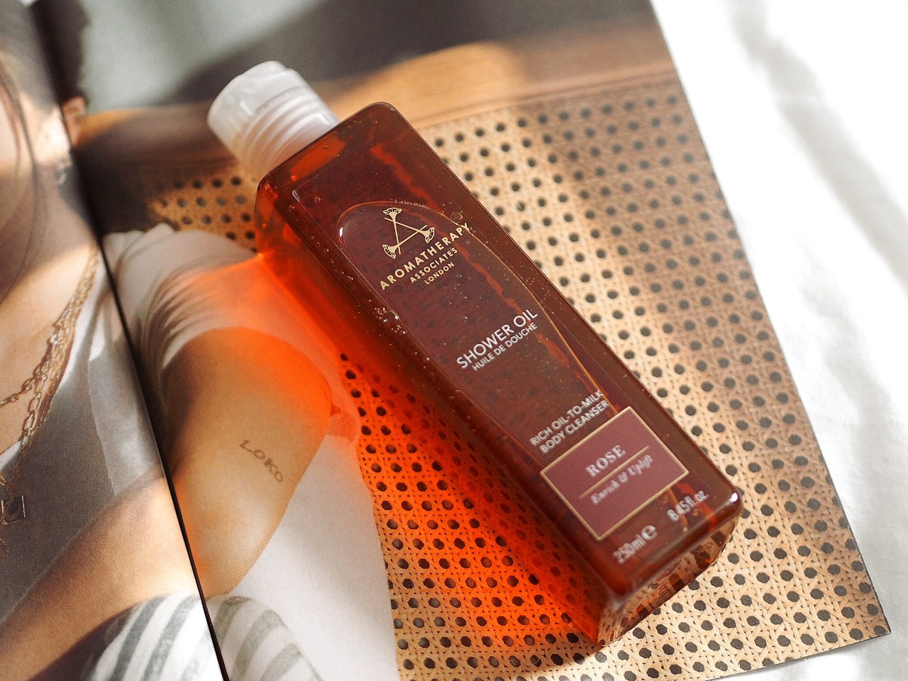 Aromatherapy Associates Shower Oil review how to use