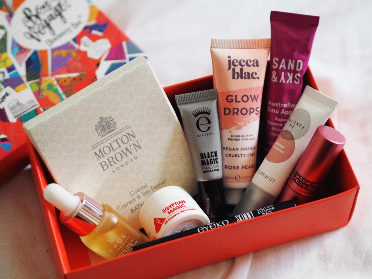 Bon Voyage 'Minibreak' Beauty Box september review
