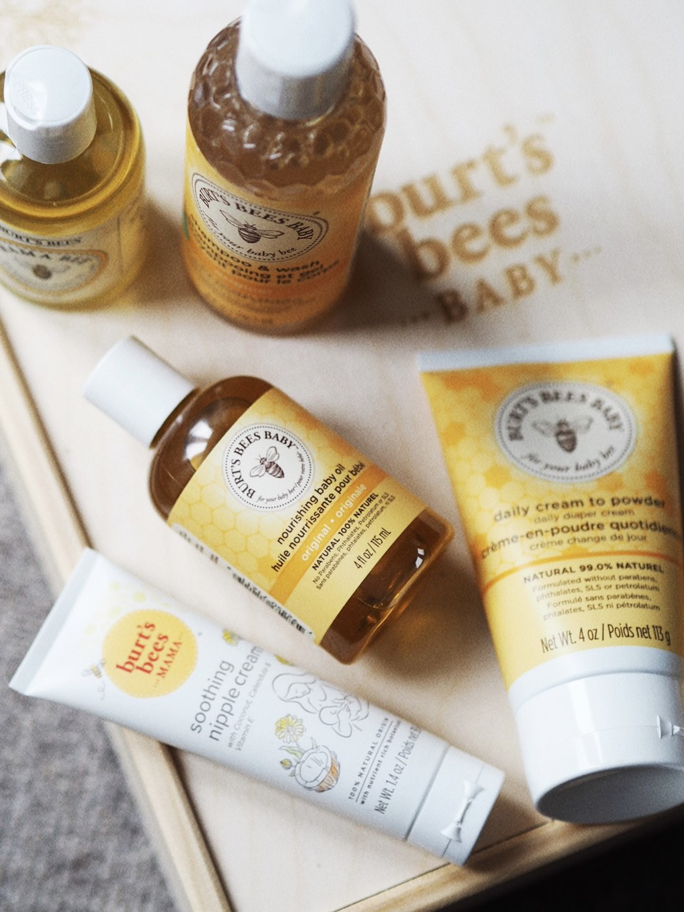 Burt's Bees Baby Range mother and baby review
