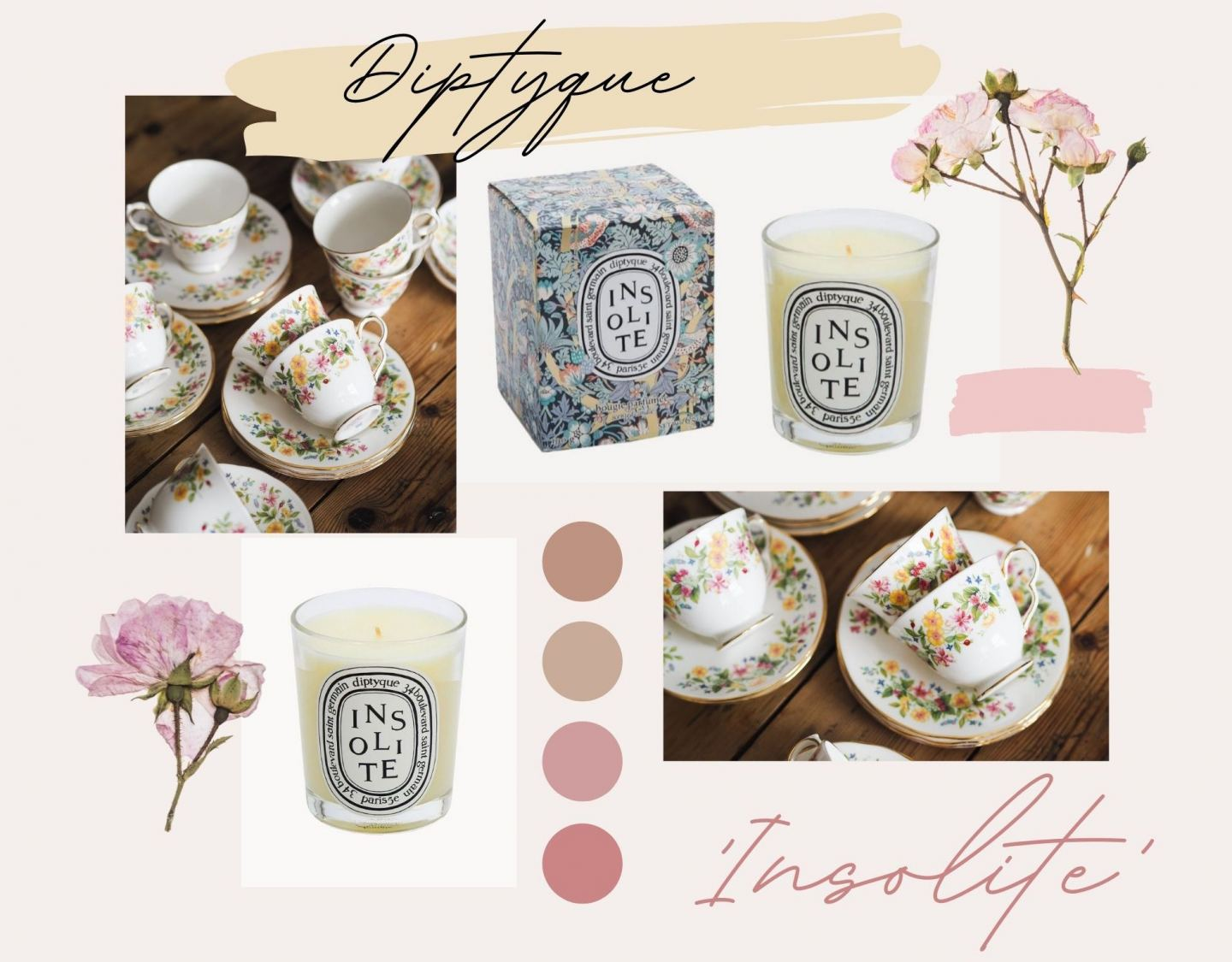 Diptyque 'Insolite' Limited Edition Candle