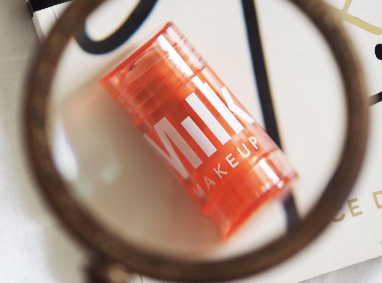 Milk Make-Up Glow Oil packaging flare