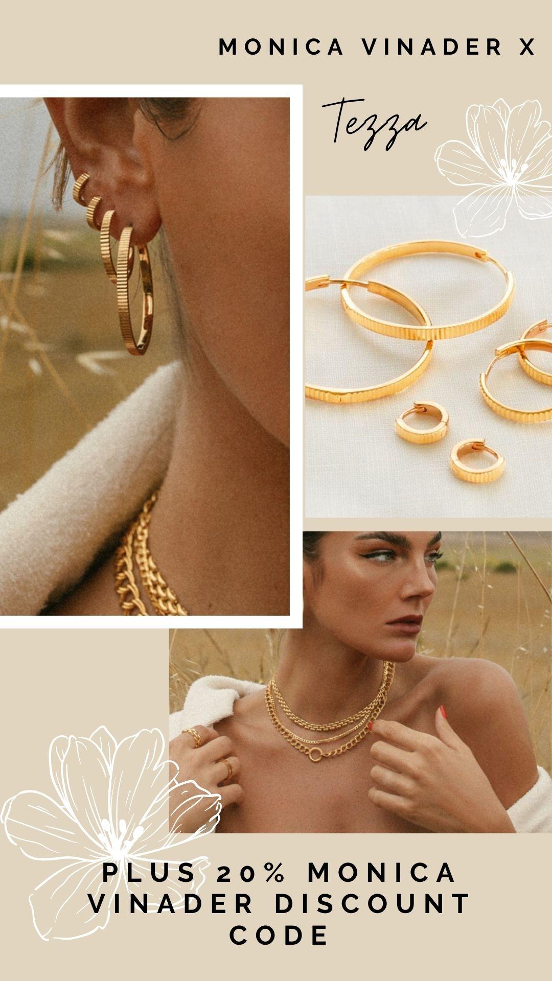 Monica Vinader X Tezza Autumn Edit! + 20% Discount Code! jewellery review pinterest