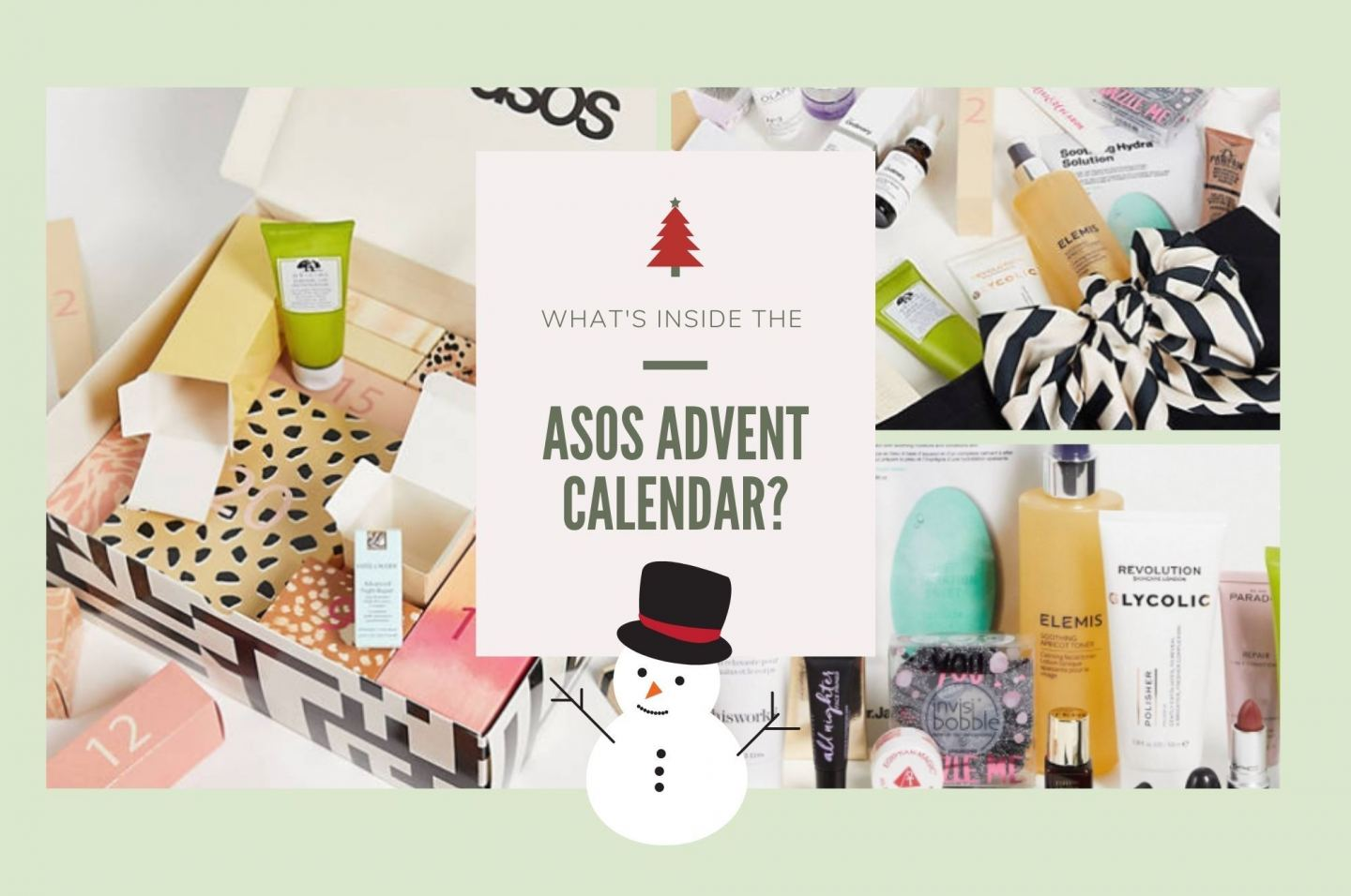 What's In The ASOS Advent Calendar 2021?!