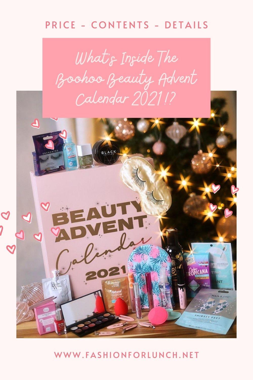 What's Inside The Boohoo Beauty Advent Calendar 2021!?