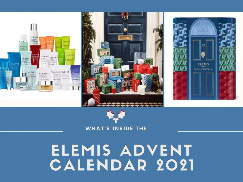 What's Inside The Elemis Advent Calendar 2021!?