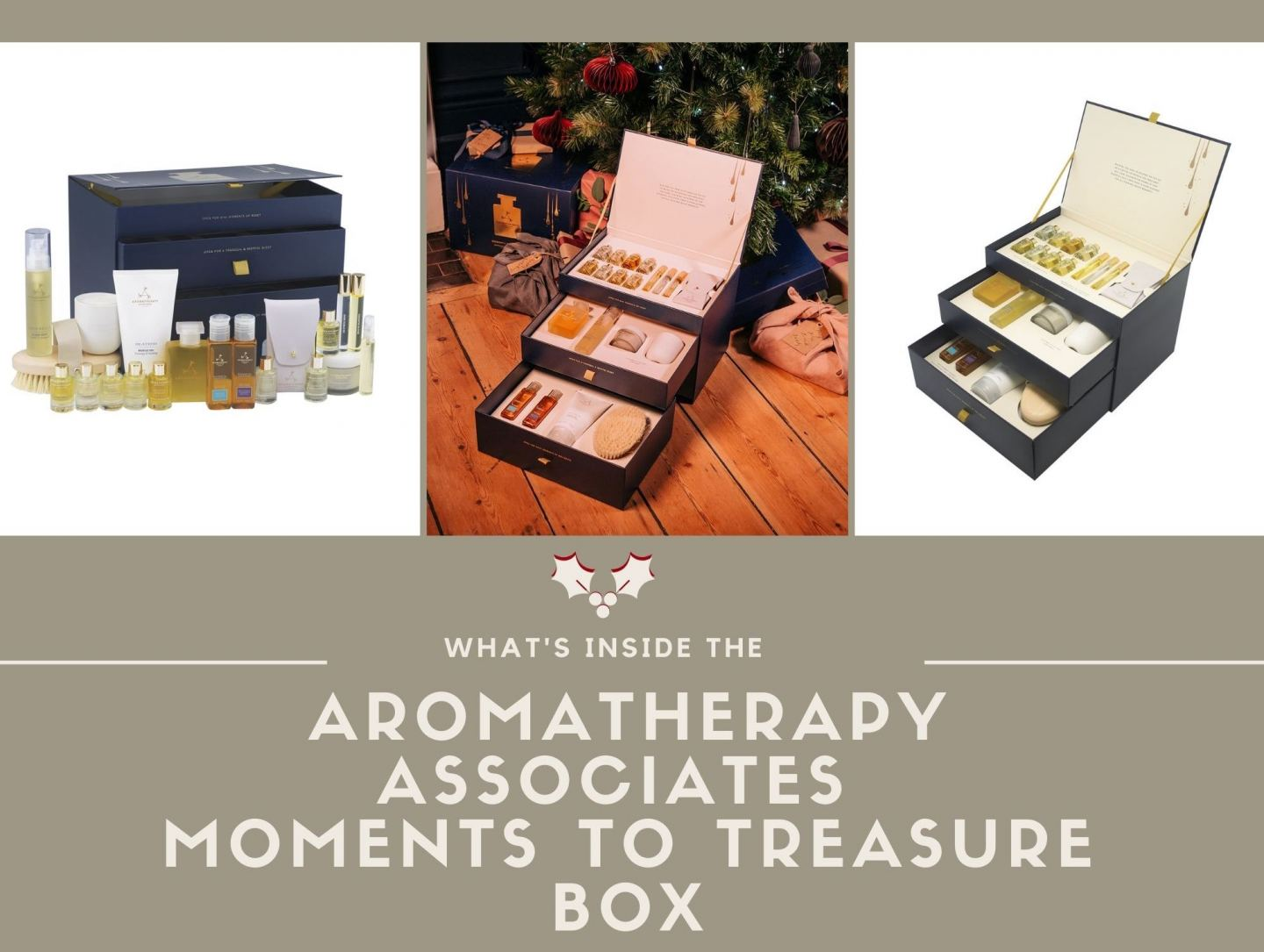 What's Inside the Aromatherapy Associates 'Moments To Treasure' Box!!