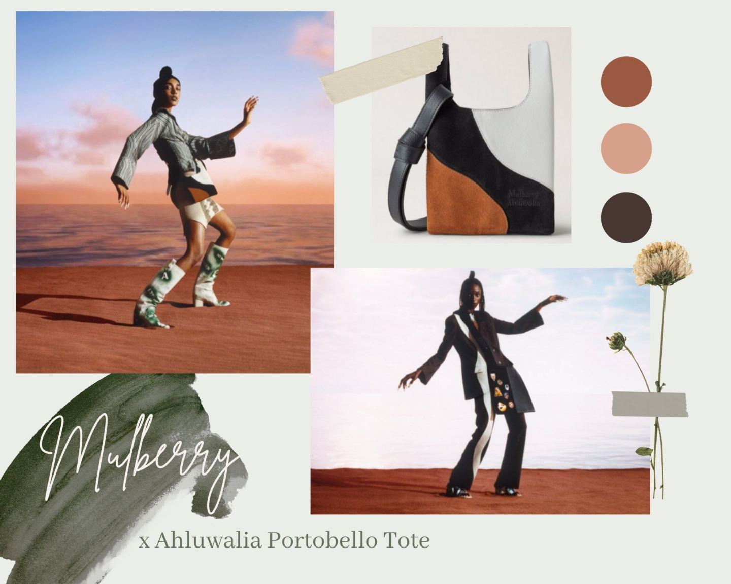 Have You Seen The Mulberry x Ahluwalia Portobello Tote Bag Collection?