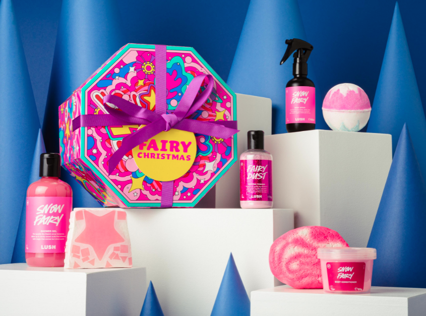 It's Back For Christmas 2021!! Lush Cosmetics 'Snow Fairy'!