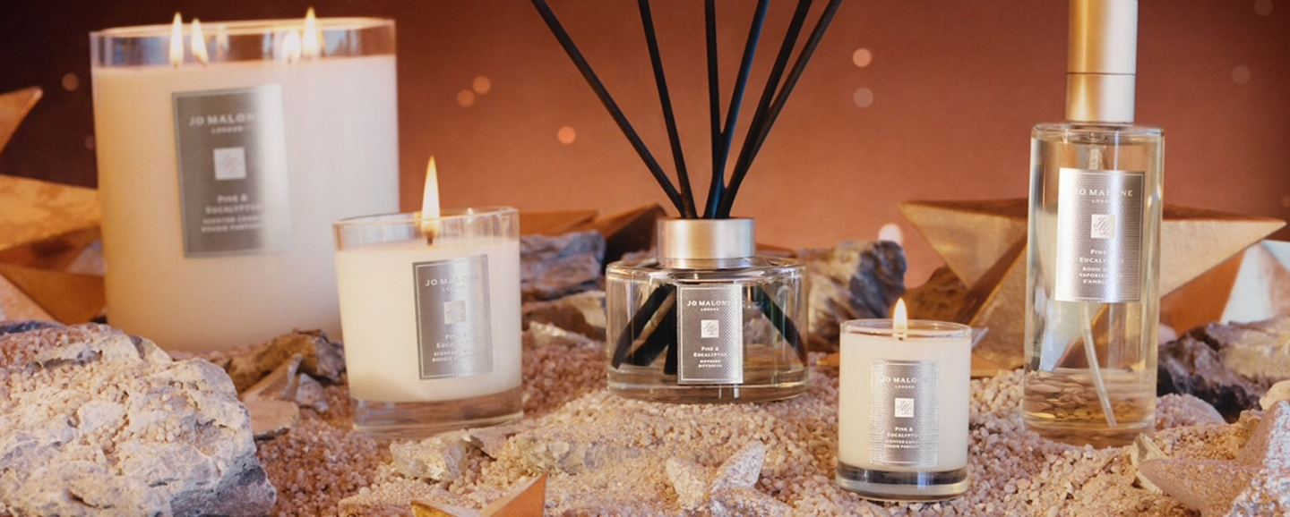 Jo Malone 'Pine & Eucalyptus' Candles & Home Fragrance Collection