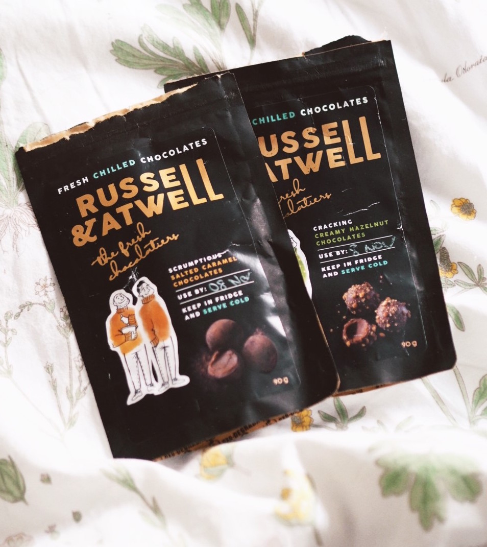 RUSSELL AND ATWELL chocolates