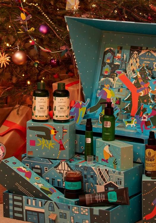 The Body Shop 'Share Love, Joy & Kindness' Exclusive Advent Calendar