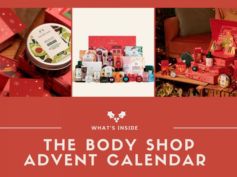 What's Inside The Body Shop Advent Calendar!?