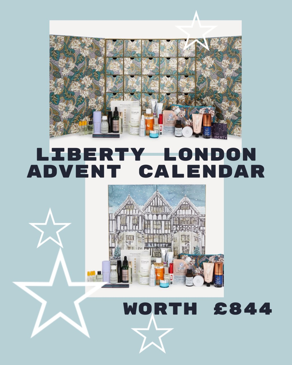 What's inside the Liberty Beauty Advent Calendar 2021?