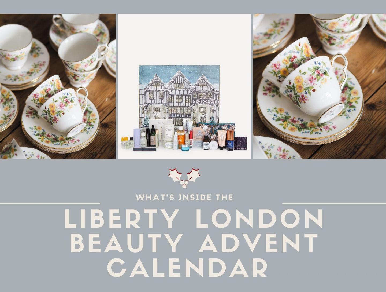 What's inside the Liberty London Beauty Advent Calendar 2021?