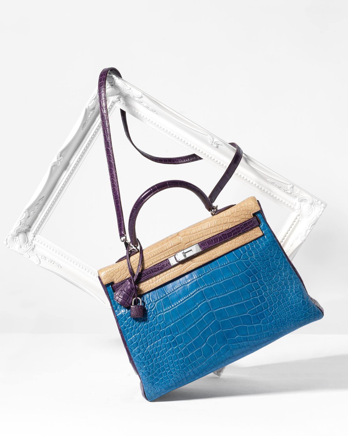 hermes kelly bag tricolor bag handbag