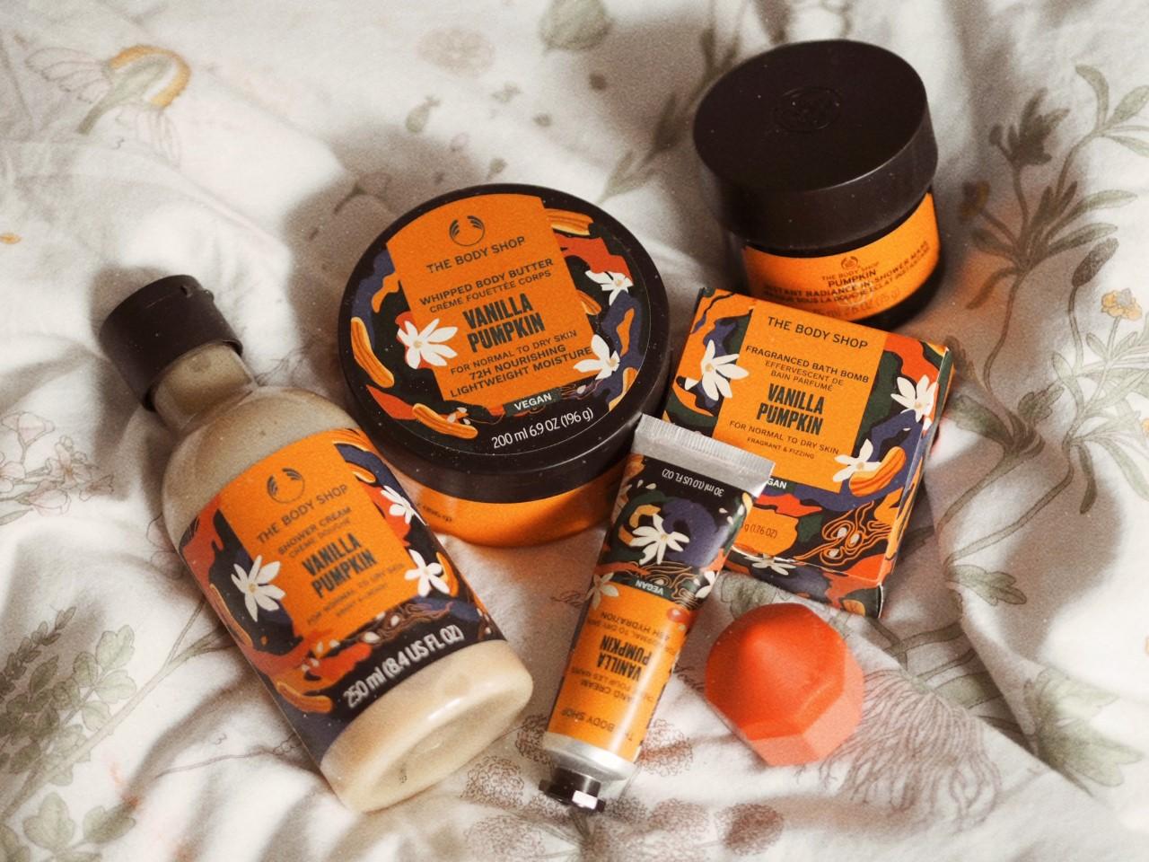 Omg! The Body Shop 'Vanilla Pumpkin' Range Is The Autumn Treat You NEED!!!!
